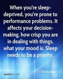 When you're sleep- 