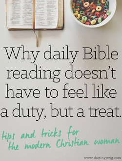Why daily Bible 