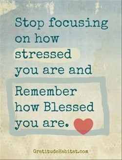Stop focusing 