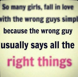 So many girts, fatl in love 