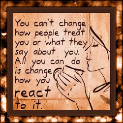 You can'* change 