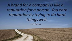A brand for a company is like a 