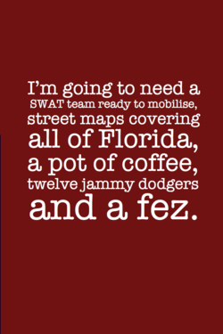 I'm going to need a 