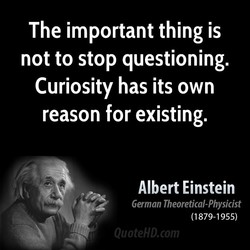 The important thing is 