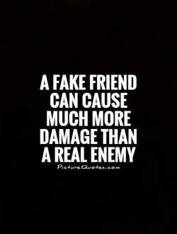 A FAKE FRIEND 