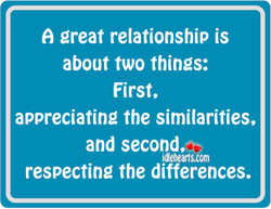 great relationship is 