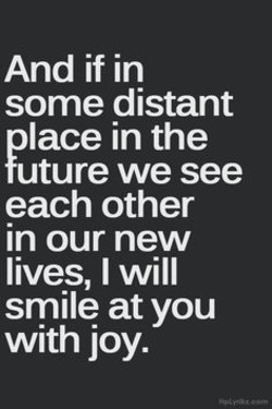 And if in 