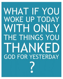 WHAT IF YOU 