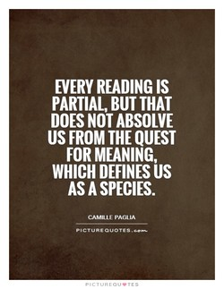 EVERY READING IS 