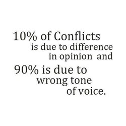 10% of Conflicts 