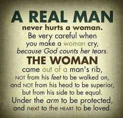 A REAL MAN 