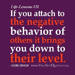 Life-Lessons #31 