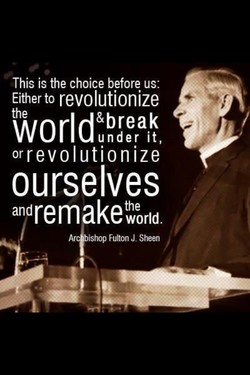 This is the choice before us: 