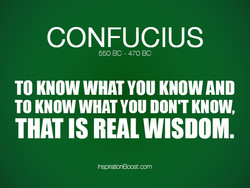 CONFUCIUS 