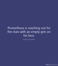 Prometheus is reaching out for 