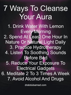 7 Ways To Cleanse 