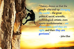 'History shows us that the 