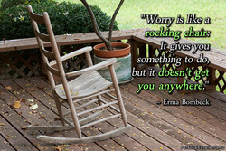 rocking chair: 