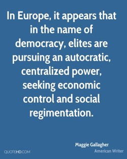 In Europe, it appears that 