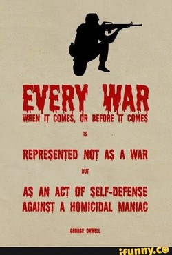 REPRESENTED NOT AS A WAR 