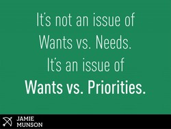 It's not an issue of 