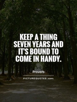 KEEP A THING 