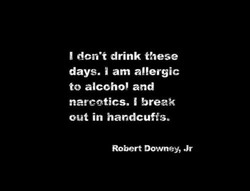 I dcn•t drink these 