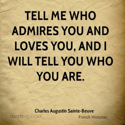TELL ME WHO 
