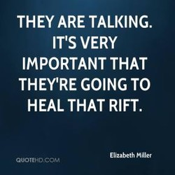 THEY ARE TALKING. 