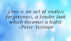Love ts an act of endless 