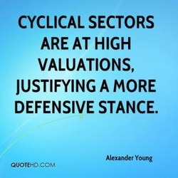 CYCLICAL SECTORS 