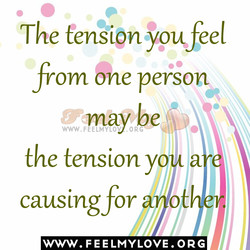 The tension ypuffeel 