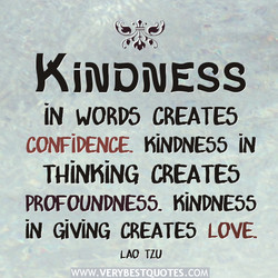 KINDNESS 