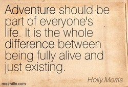 Adventure should be 