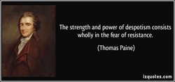 The strength and power of despotism consists 