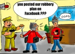 you posted our robbery 