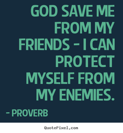 GOD SAVE ME 