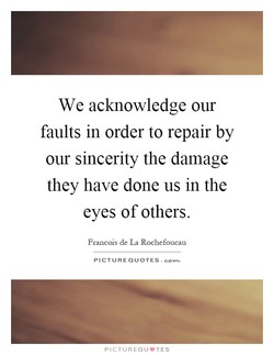 We acknowledge our 
