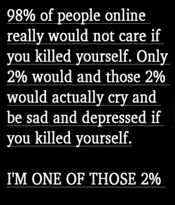 98% of people online 