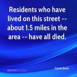 Residents who have 