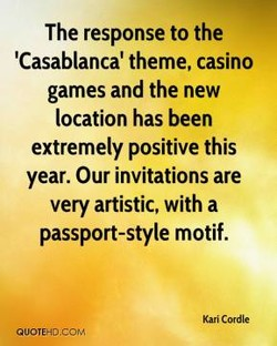 The response to the 