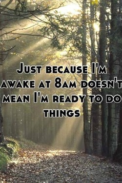 JUST BECAUSE I'M 