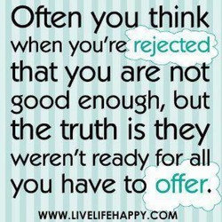 Often you think 