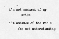 i' IA not ashamed of 