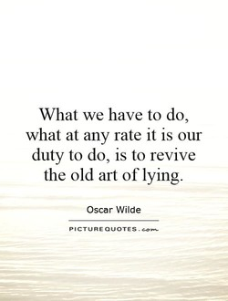 What we have to do, 