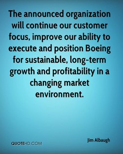 The announced organization 