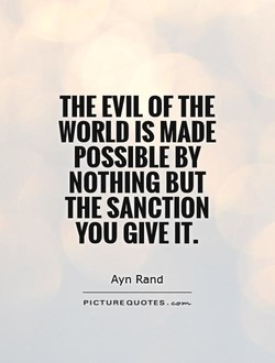THE EVIL OF THE 
