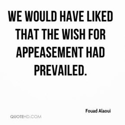 WE WOULD HAVE LIKED 