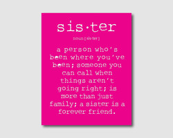 sis •ter 