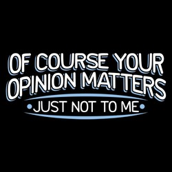 Of COURSE YOUR 